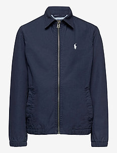 Bayport Stretch Cotton Chino Jacket - bomber jackets - newport navy