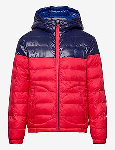 Reversible Water-Resistant Jacket - puffer & padded - rl 2000 red/newpo