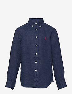 Linen Shirt - skjorter - newport navy