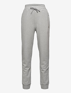 Cotton Mesh Jogger Pant - hosen - andover heather