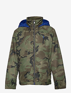 Water-Resistant Packable Hooded Jacket - veste rembourrée - player camo
