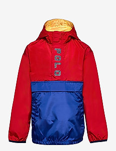 Water-Repellent Hooded Jacket - windbreaker jassen - rl 2000 red/sapph