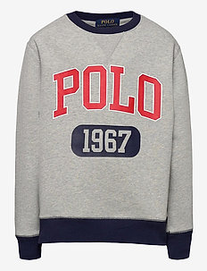 Logo Fleece Sweatshirt - habits tricotés - andover heather