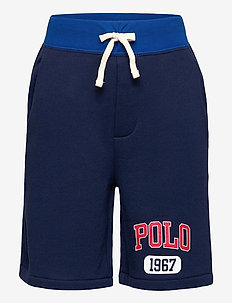 Logo Fleece Pull-On Short - shorts - newport navy
