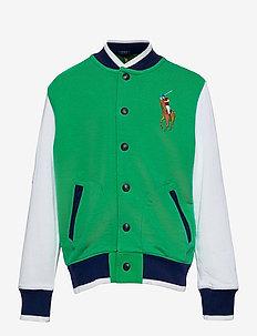 Twill Terry Baseball Jacket - blousons aviateur - billiard