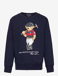 Polo Bear Fleece Sweatshirt - sweatshirts - cruise navy