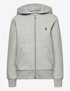 Double-Knit Full-Zip Hoodie - pulls à capuche - lt sport heather