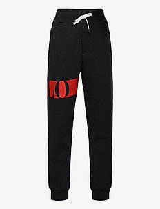 Logo Double-Knit Jogger Pant - sweatpants - polo black