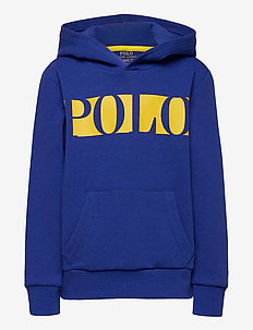 Logo Double-Knit Hoodie - pulls à capuche - heritage royal