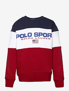 Polo Sport Fleece Sweatshirt - sweatshirts - rl2000 red multi