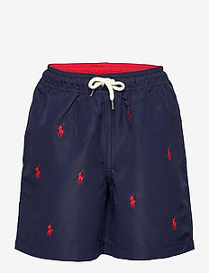 Polo Pony Traveler Swim Trunk - shorts de bain - newport navy/rl20