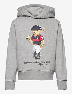 Polo Bear Fleece Hoodie - hoodies - andover heather