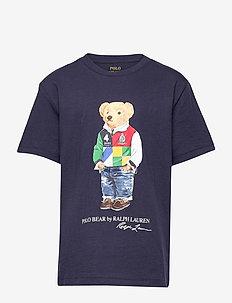 Polo Bear Cotton Jersey Tee - À manches courtes - cruise navy