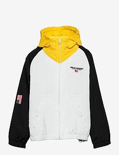 Polo Sport Hooded Jacket - leichte jacken - polo black multi