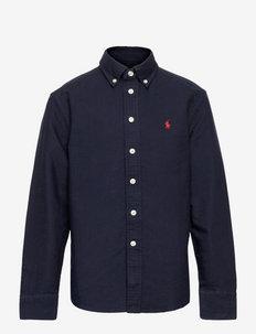 Cotton Oxford Shirt - shirts - rl navy