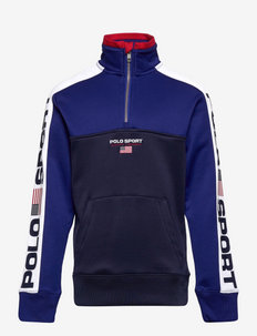 Polo Sport Fleece Sweatshirt - sporting royal/cr