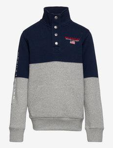 Polo Sport Fleece Sweatshirt - sweatshirts - andover heather/c