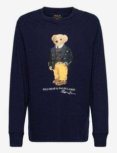 Polo Bear Cotton Jersey Tee - t-shirts - cruise navy