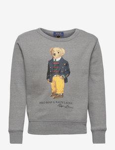 Polo Bear Fleece Sweatshirt - sweatshirts - classic grey heat