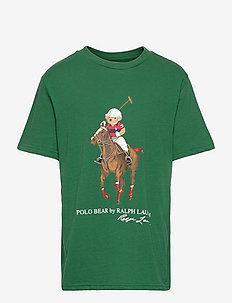 Polo Bear & Big Pony Cotton Tee - kurzärmelige - verano green