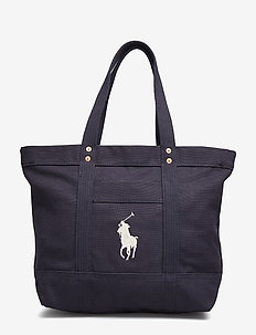 CANVAS-MD PP TOTE-TTE-MED - NAVY