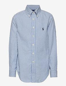 CUSTOM FIT BLAKE SHIRT - chemises - bsr blue/wht