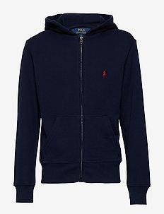 Cotton-Blend-Fleece Hoodie - hoodies - cruise navy