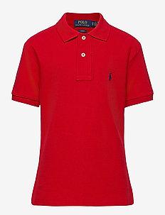 Custom Fit Cotton Mesh Polo - polos - rl 2000 red