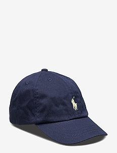 Cotton Chino Baseball Cap - casquettes - newport navy