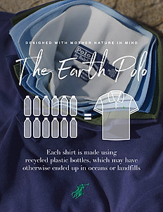 The Earth Polo - poloskjorter - polo black