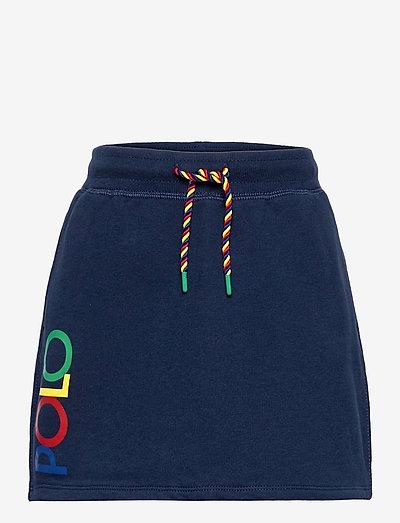 Logo Fleece Skirt - skirts - french navy