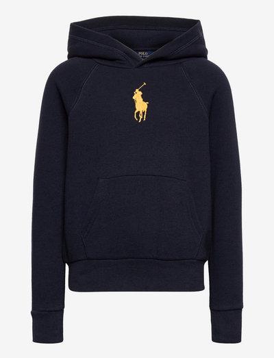 Big Pony Fleece Hoodie - hoodies - hunter navy