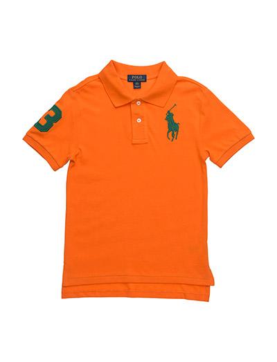 Custom Fit Mesh Polo - BRIGHT SIGNAL ORANGE