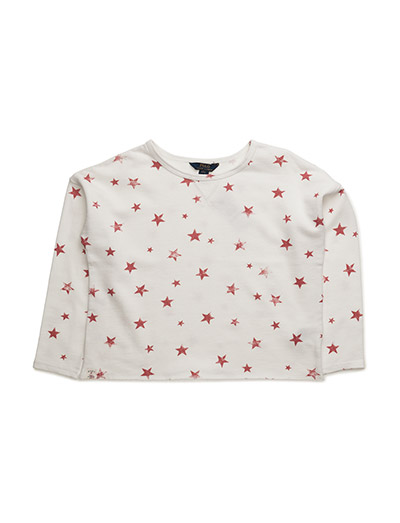 LSL STAR PO LOGO - CREAM/RED MULTI
