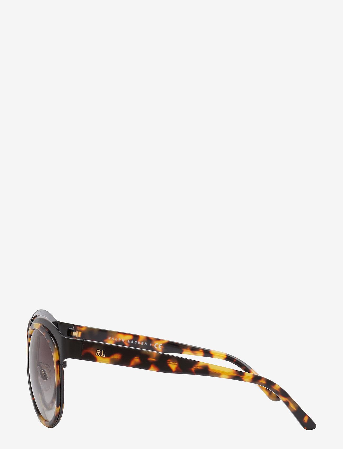 Ralph Lauren Sunglasses CORE COLL | RL B&G - Okulary przeciwsłoneczne SHINY BLACK/GRADIENT GREY - Akcesoria