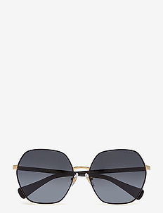 0RA4124 - round frame - shiny gold with black