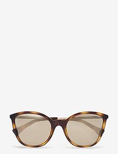 Ralph Lauren Sunglasses - okulary przeciwsłoneczne motyl - dark havana