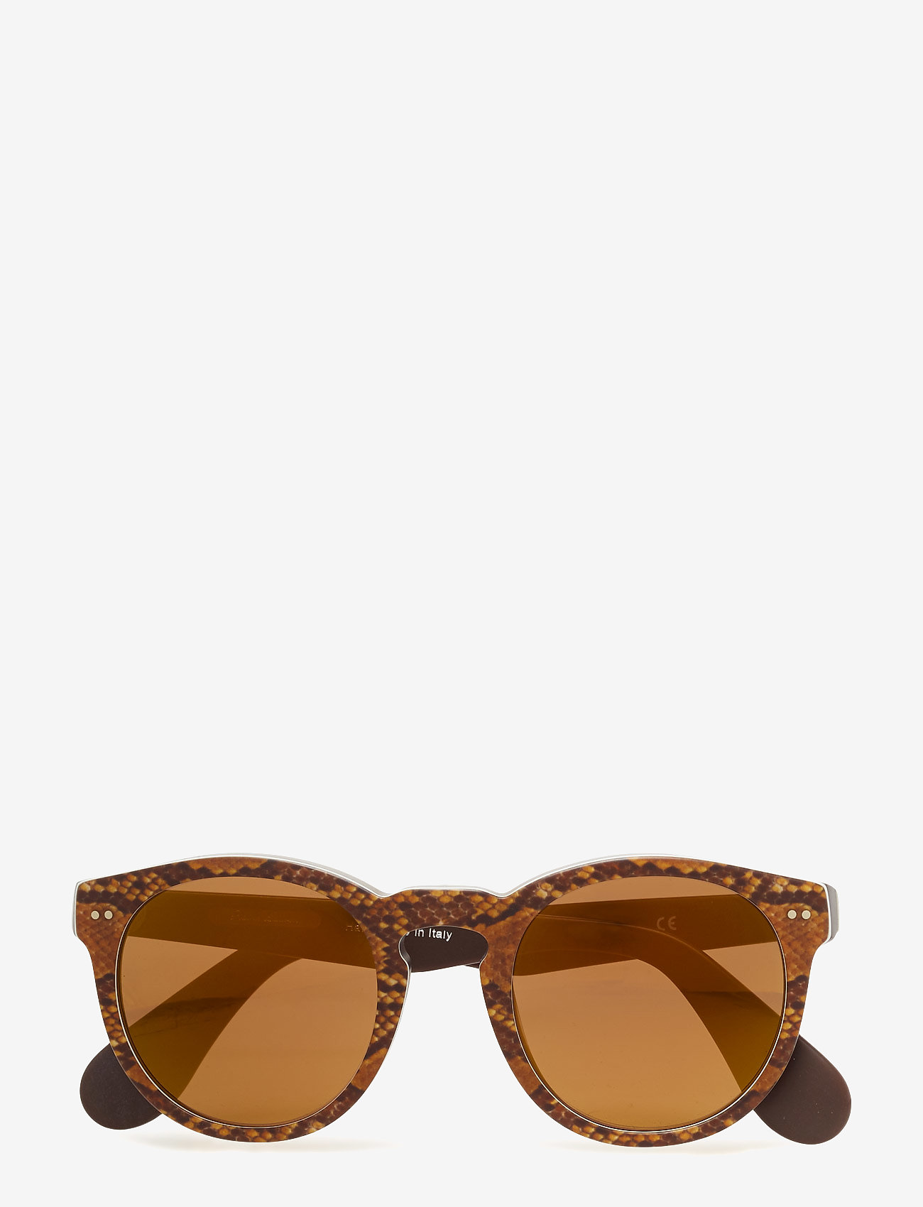 Ralph Ralph Lauren Sunglasses - HERITAGE - rond model - top python on brown vintage - 0