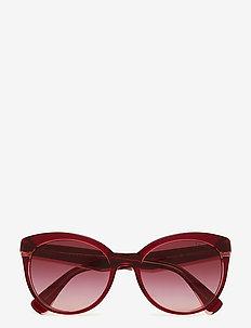 0RA5238 - cat-eye - burgundy violet