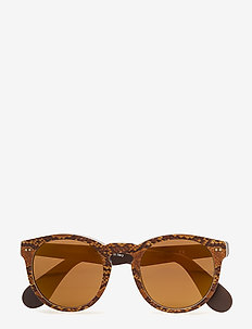 HERITAGE - round frame - top python on brown vintage