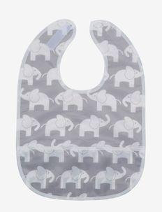 Elephant, bib, grey - lätzchen - grey