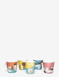 Moomin,  cups, 5 pcs - kupit & mukit - multi
