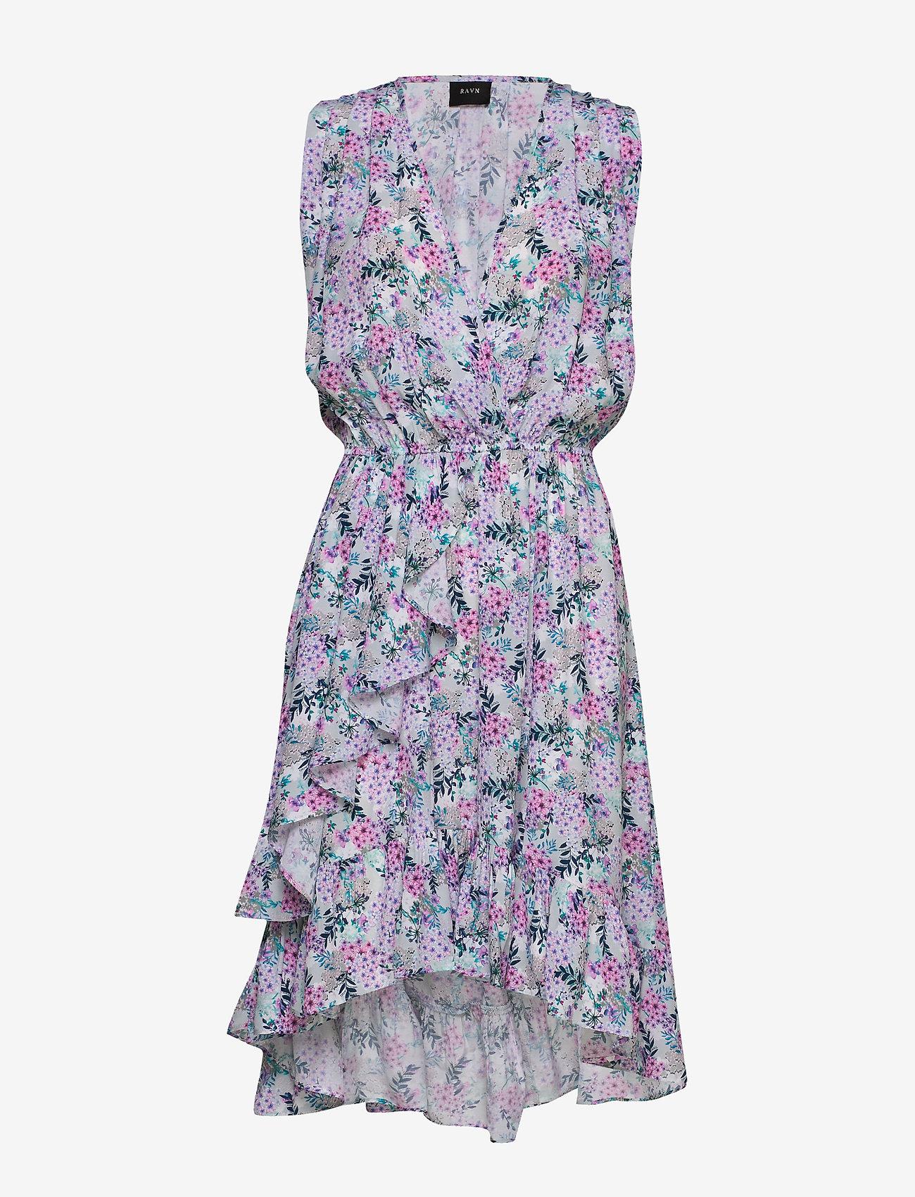 Ravn Harper Dress - Sukienki VINTAGE FLOWER PRINT - Kobiety Odzież.