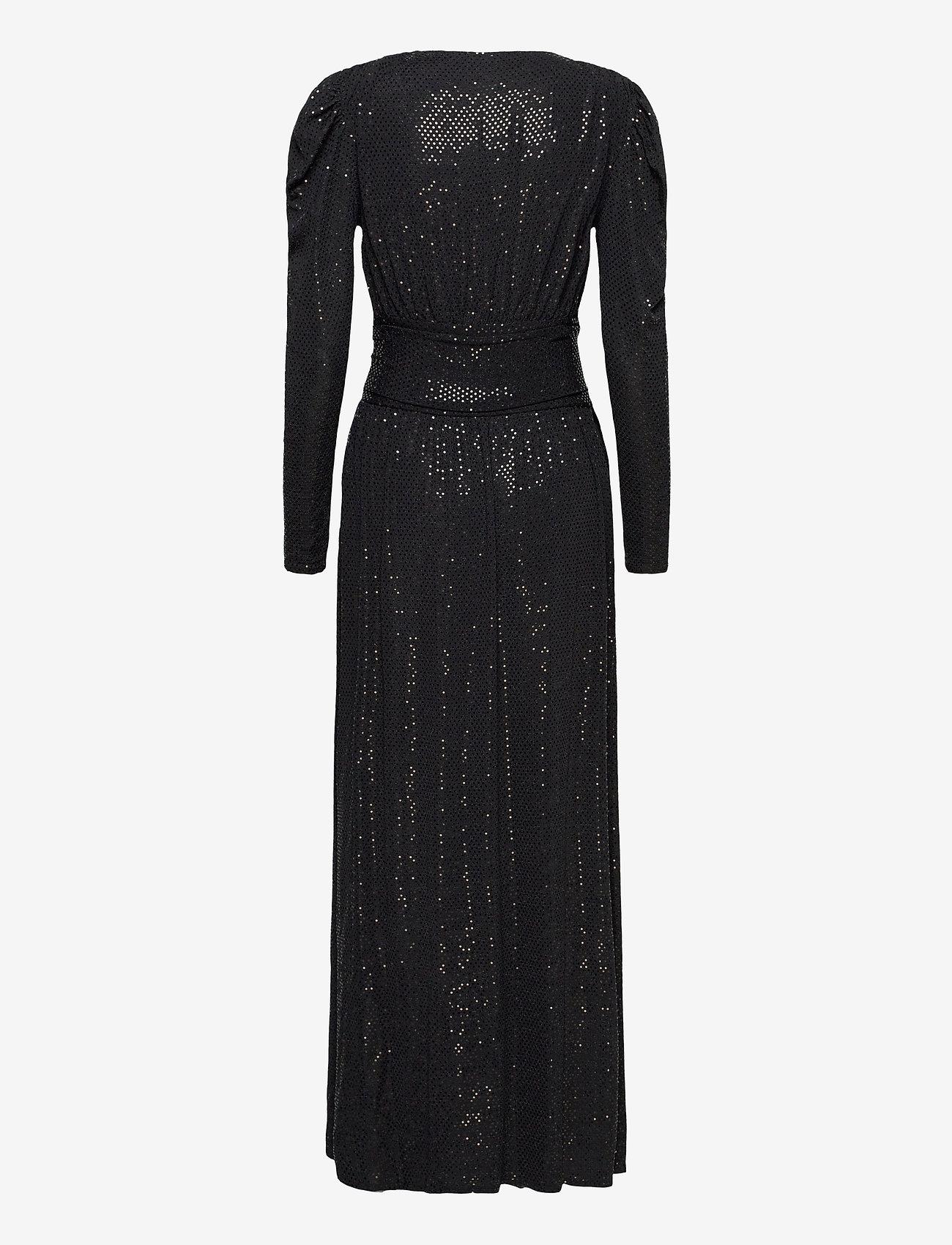 Ravn - Tuesday Dress - kveldskjoler - black sequin - 1