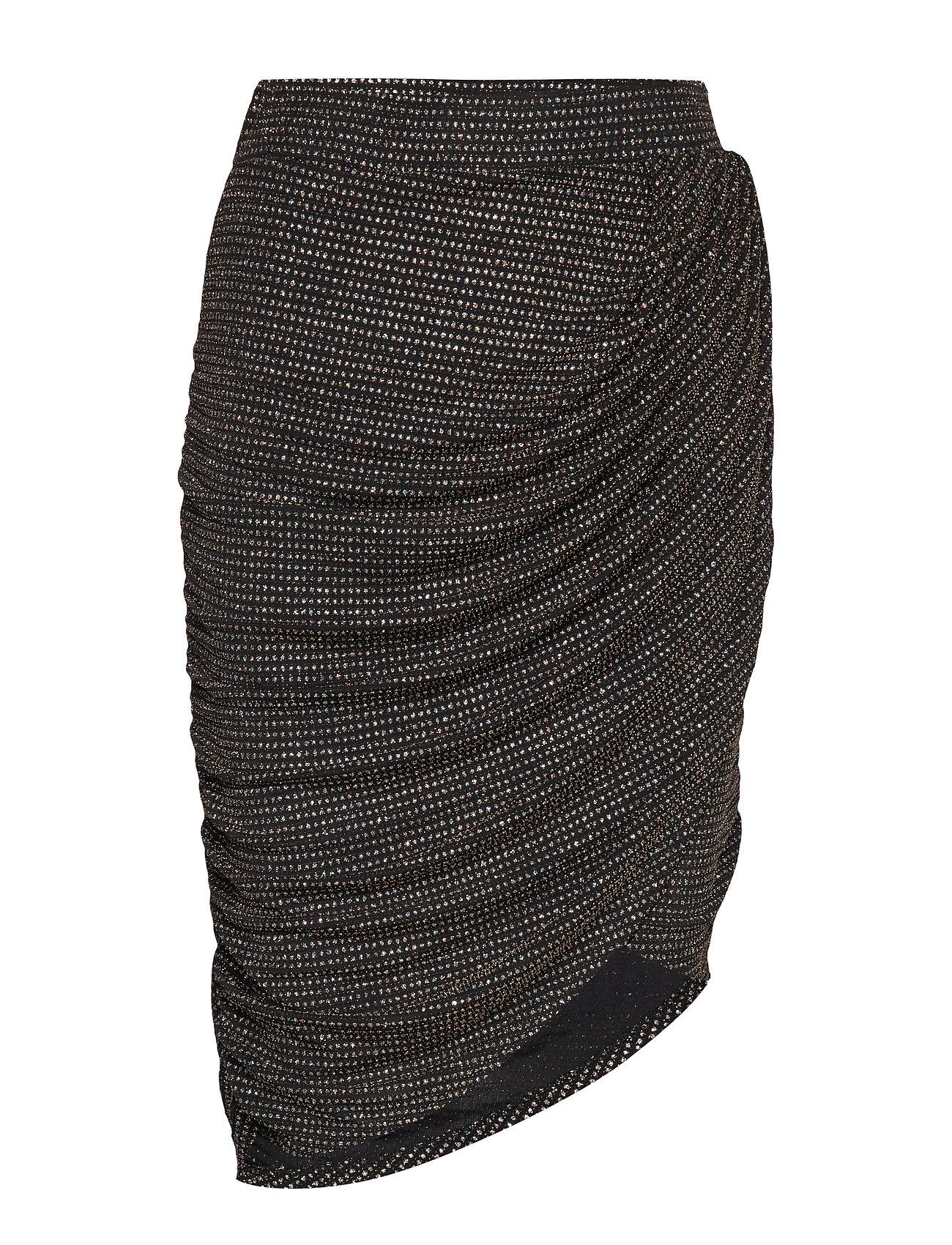 Ravn RAVN * BOOZT Glimmer skirt Exclusive - 001 BLACK