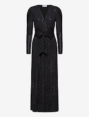 Ravn - Tuesday Dress - kveldskjoler - black sequin - 0