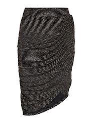 RAVN * BOOZT Glimmer skirt Exclusive - 001 BLACK