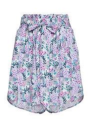 Skylar Shorts - VINTAGE FLOWER PRINT
