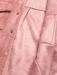Ravn - Lumber Jacket - faux fur - soft pink - 4