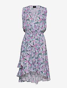Harper Dress - omslagskjoler - vintage flower print